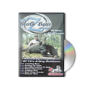 bear hunting DVD - Black Bear Zone 1