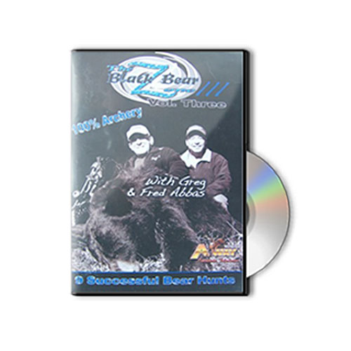 bear hunting DVD - Black Bear Zone 3