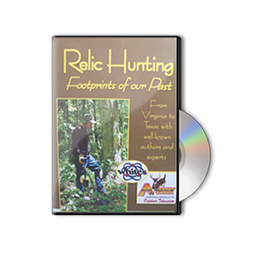 metal detector dvd - relic hunting by A-Way Hunting Products