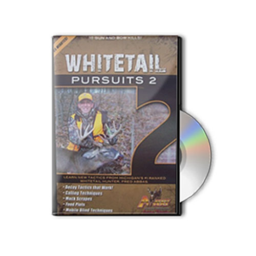 deer hunting DVD - Whitetail Pursuits 2 with Fred and Greg Abbas